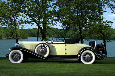 Photograph - 1931 Cord L29 Cabriolet by TeeMack