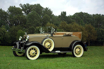 Photograph - 1931 Ford Model A Roadster by TeeMack