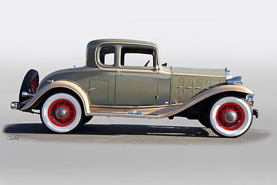 Automotive Art Series Wall Art - Photograph - 1932 Buick 96 S Coupe by Dave Koontz