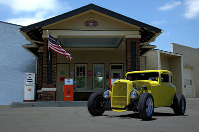 Photograph - 1932 Ford Coupe by TeeMack
