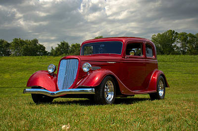 Photograph - 1933 Ford Vicky Hot Rod by TeeMack