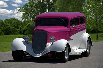 Photograph - 1933 Ford Vicky by Tim McCullough