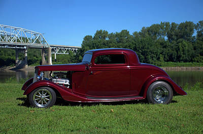 Photograph - 1934 Ford Coupe by Tim McCullough