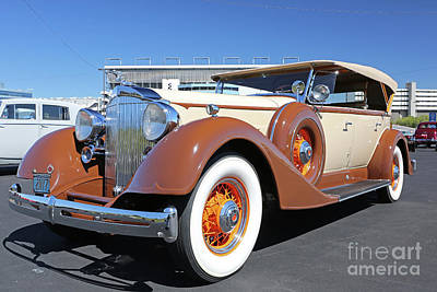 Photograph - 1934 Packard Automobile by Kevin McCarthy