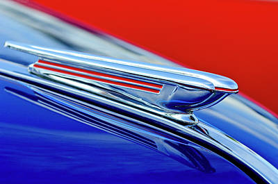Hoodie Photograph - 1938 Chevrolet Hood Ornament 2 by Jill Reger
