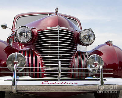 Photograph - 1939 Cadillac by Dennis Hedberg