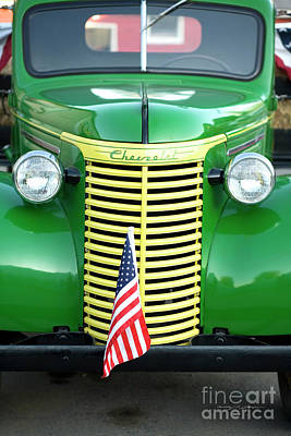 1939 Chevrolet Truck Print by George Robinson