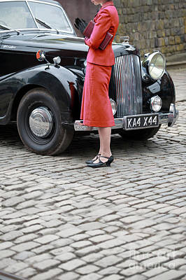 Photograph - 1940s Woman by Lee Avison