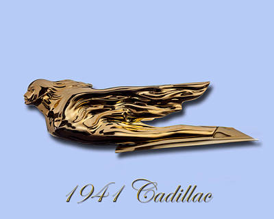 Photograph - 1941 Cadillac Mascot by Jack Pumphrey