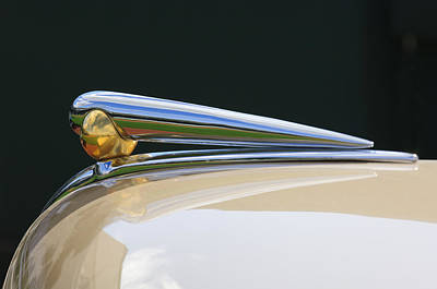 Hoodie Photograph - 1941 Lincoln Continental Hood Ornament 2 by Jill Reger