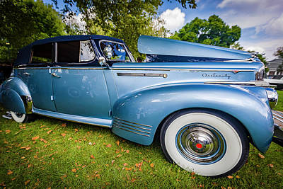 Photograph - 1941 Packard 120 Convertable Sedan by Jack R Perry