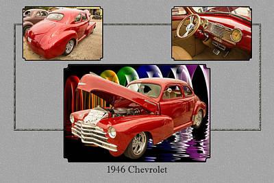 Photograph - 1946 Chevrolet Classic Car Photograph 6773.02 by M K Miller