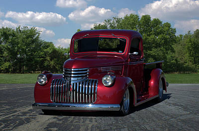 Photograph - 1946 Chevrolet Pickup Truck by TeeMack