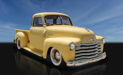 1948 Chevrolet Truck Art Print by Frank J Benz