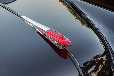 Photograph - 1949 Chevrolet Coupe Deluxe Hood Ornament by Rich Franco