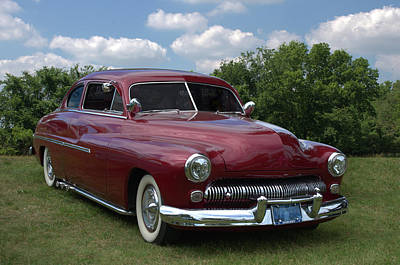 Photograph - 1950 Mercury by TeeMack