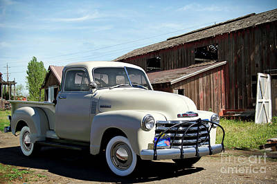 Photograph - 1952 Chevrolet 3100 Pickup I by Dave Koontz