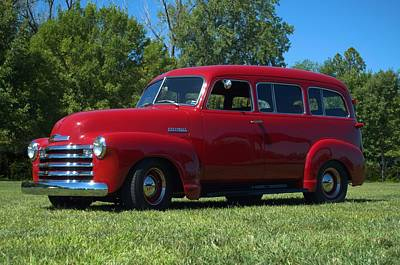 Photograph - 1953 Chevrolet Suburban by TeeMack