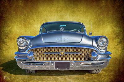 1955 Buick Art Print