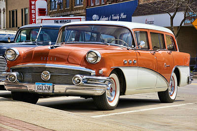 Photograph - 1956 Buick Special by Kyle West