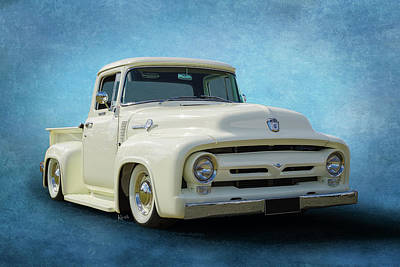 Photograph - 1956 F100 by Keith Hawley