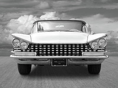 1959 Buick Grille And Headlights Art Print