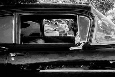 Chevrolet Biscayne Photograph - 1959 Chevrolet Biscayne  Bw by Rich Franco
