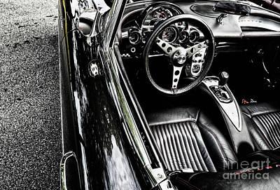 Photograph - 1959 Chevrolet Corvette by M G Whittingham