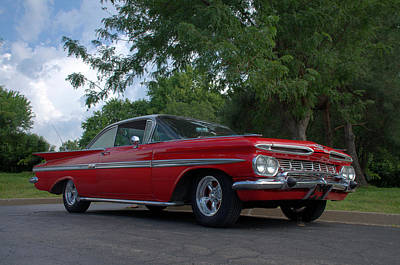 Photograph - 1959 Chevrolet Impala by TeeMack