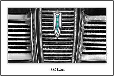 Photograph - 1959 Edsel by  Onyonet  Photo Studios