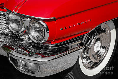 Photograph - 1960 Cadillac by Dennis Hedberg