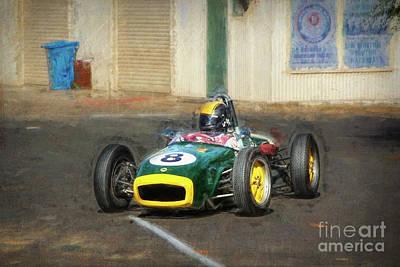 Photograph - 1960 Lotus 18 Fj by Stuart Row