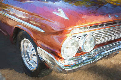1961 Chevrolet Impala Ss  Art Print by Rich Franco