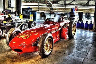 Photograph - 1961 Elder Indy Racing Special by Josh Williams