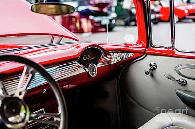 Photograph - 1963 Chevrolet Bel Air by M G Whittingham