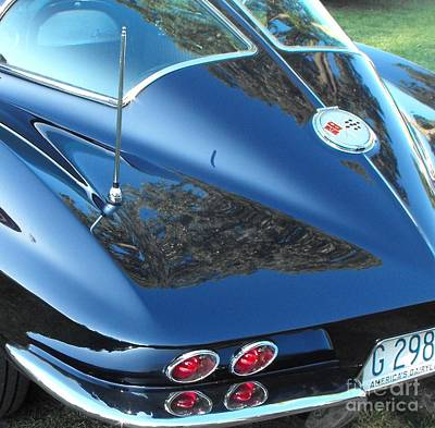 1963 Corvette Art Print