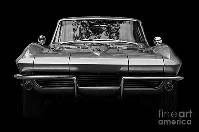 Photograph - 1964 Corvette by Dennis Hedberg