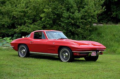 Photograph - 1964 Corvette Stingray by TeeMack