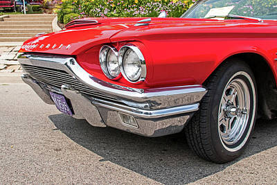 The Champagne Collection - 1964 T Bird by Ira Marcus