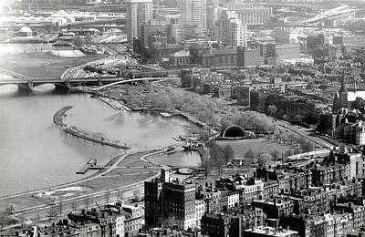 Photograph - 1965 Boston's Back Bay And Beacon Hill by Historic Image