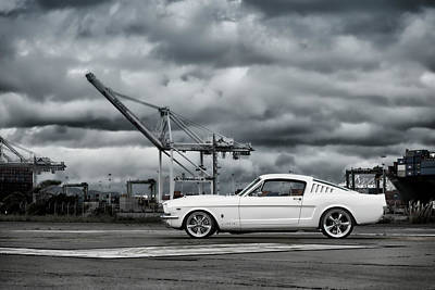 Photograph - 1965 #mustang #fastback #print by ItzKirb Photography