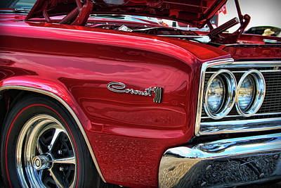Muscle Car Photograph - 1966 Dodge Coronet 500 426 Hemi by Gordon Dean II