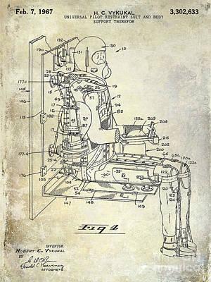 1967 Pilot G Suit Patent Art Print