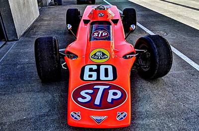 Photograph - 1968 Lotus 56 Turbine Indy Car #60 by Josh Williams