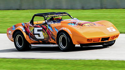 Photograph - 1969 Chevrolet Corvette by Randy Scherkenbach
