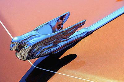 Photograph - 1972 Cadillac Eldorado # 2 Hood Ornament by Allen Beatty