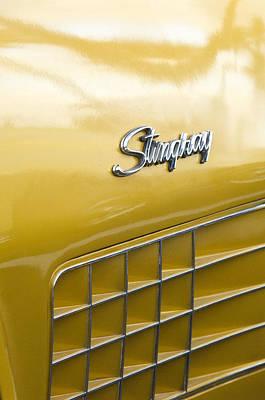 Photograph - 1972 Chevrolet Corvette Stingray Emblem by Jill Reger
