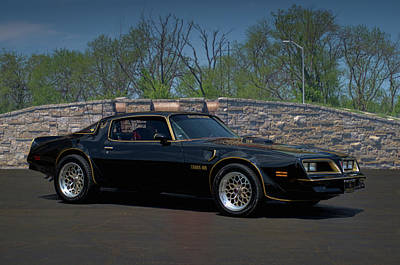 Photograph - 1978 Pontiac Trans Am by Tim McCullough
