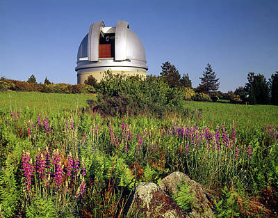 Photograph - 1b6502-h Observatory At Mt. Palomar by Ed Cooper Photography