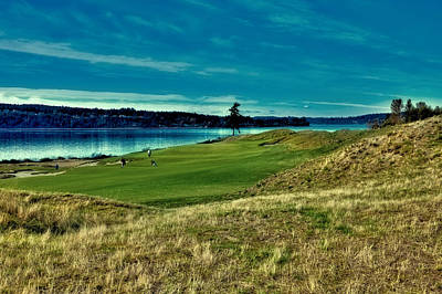 Photograph - #2 At Chambers Bay Golf Course by David Patterson